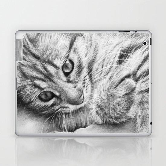 Cat Kitten Dawing Laptop & iPad Skin
