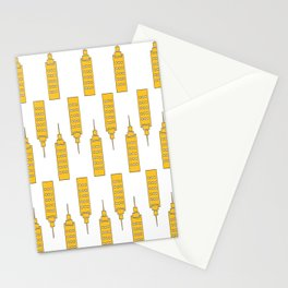 The Yellow Skyscraper Stationery Cards
