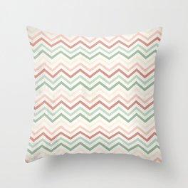 Retro 60 - Third Wave Throw Pillow