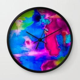 Manchas Wall Clock