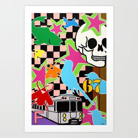 """67 F"" Art Print"