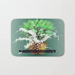 Pineapple Milkshake Bath Mat