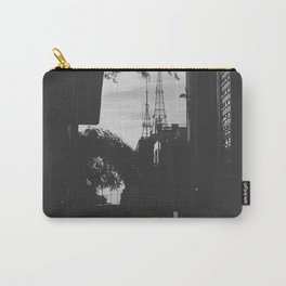 Paulista Avenue B/W Carry-All Pouch