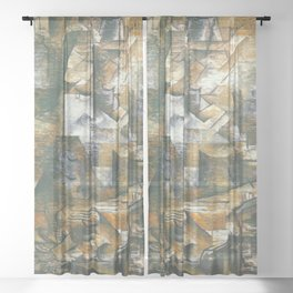 Georges Braque The Portugese Sheer Curtain
