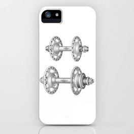 Campagnolo Record Pista Track Hubs iPhone Case
