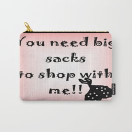Big Shopping Sacks Carry-All Pouch