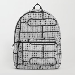 Curvilinear Window Grille Design Backpack