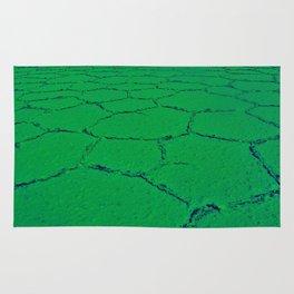 Where On Earth ? - Green Rug