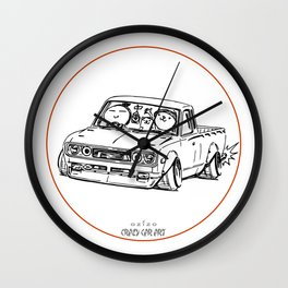 Crazy Car Art 0065 Wall Clock