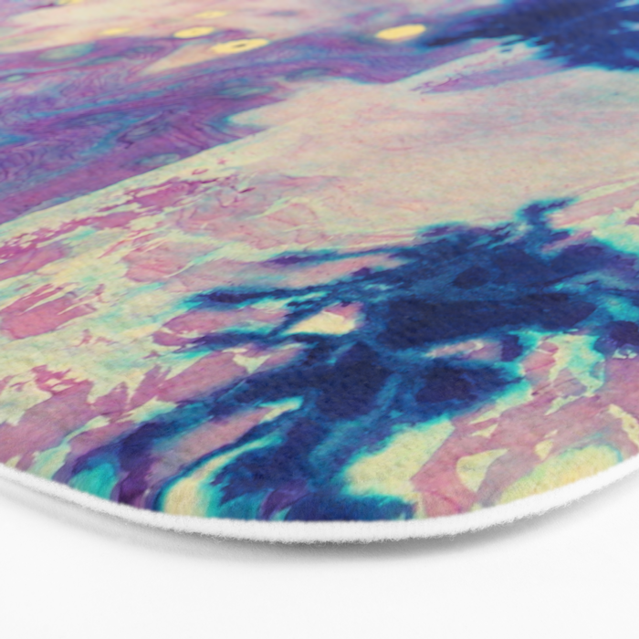 Psychedelic Vibes Bath Mat