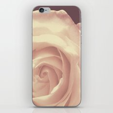 Roses are White iPhone Skin