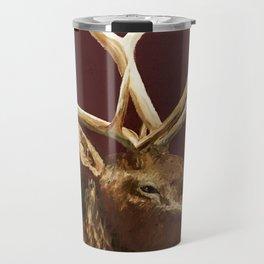 Big Bull Elk Profile Travel Mug