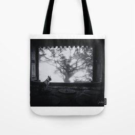 Holly and the Tree Tote Bag
