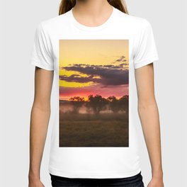 Sunrise above Land of the Leopard T-shirt