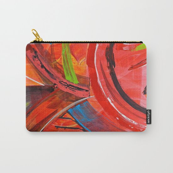 IBIZA - colorful abstract painting Carry-All Pouch