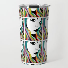 Girls Of MySpace (Tabby) Travel Mug