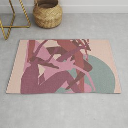 Witches in the Full Moon Rug