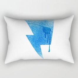 A Blind Neptune Rectangular Pillow