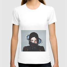 MJ, xscape, painting T-shirt