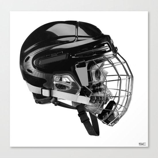 facemask Canvas Print