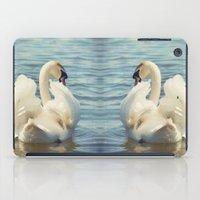 swan iPad Cases featuring Swan by Svetlana Sewell