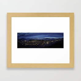 View of the Valley Framed Art Print