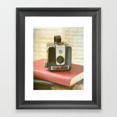 Vintage Brownie Camera Framed Art Print