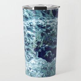 Lake Wave Bubbles Travel Mug