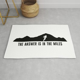 The Answer Is In The Miles Rug