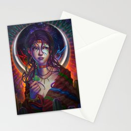 Moon Woman Stationery Cards