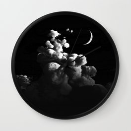 Alignment (Cloud series 21) Wall Clock