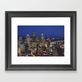 Things Aren't Like They Used To Be Framed Art Print