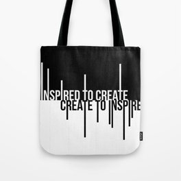Create to Inspire Tote Bag