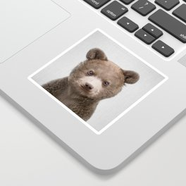 Baby Bear - Colorful Sticker