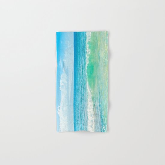 Ocean Blue Beach Dreams Hand & Bath Towel