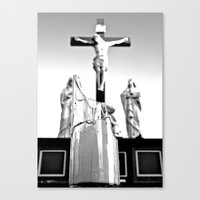 religious Canvas Prints featuring Religious aesthetics by Vorona Photography