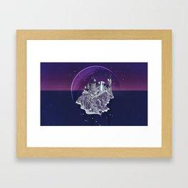 Hogwarts series (year 7: the Deathly Hallows) Framed Art Print