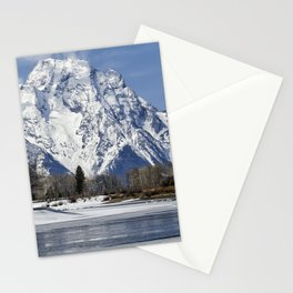 Mt Moran from Oxbow Bend Stationery Cards