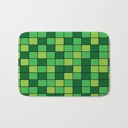 Grass Grid Bath Mat