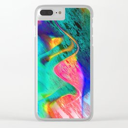 energy overload Clear iPhone Case