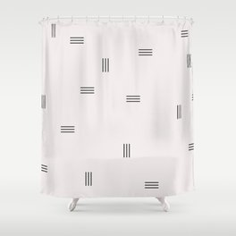 lines 2 Shower Curtain