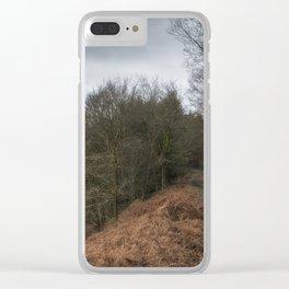 Along the Ridge II Clear iPhone Case