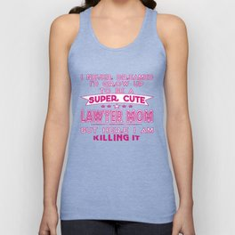 A Super cute Lawyer Mom Unisex Tank Top