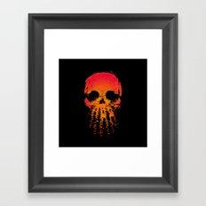 Skullset Framed Art Print