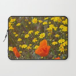 Patches of Gold Laptop Sleeve