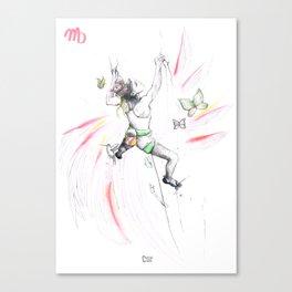 Vertical Virgo Canvas Print