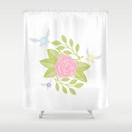 Garden of Fairies Shower Curtain