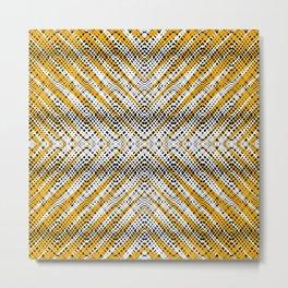 Breeze Orange - Optical Series 011 Metal Print