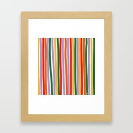 J'y arrive-Getting there- to the sky Framed Art Print