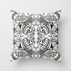 Tuliping Tangle Throw Pillow